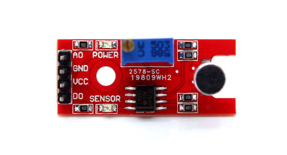 Arduino compatible microphone sound detection sensor