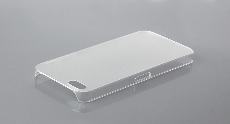 Soft PVC Protective Case for iPhone 5 (Translucent) Tra