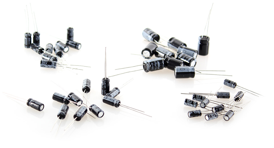 1uF-470uF Aluminum Electrolytic Capacitors Value-Pack (120-piece)