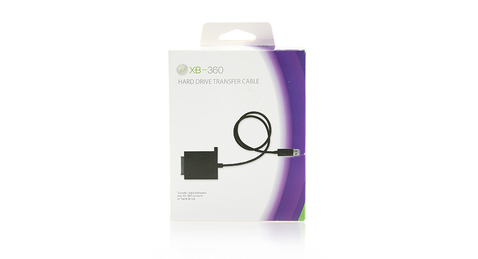 USB HDD Hard Drive Data Transfer Cable Kit for Xbox 360