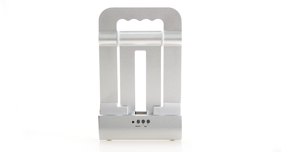 Foldable Stand Speaker Charger Dock Combo for iPhone &