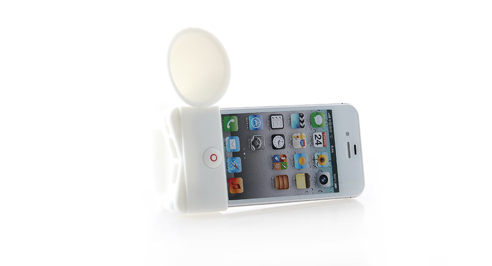 Portable Horn Stand Amplifier Speaker for iPhone 4/4S (