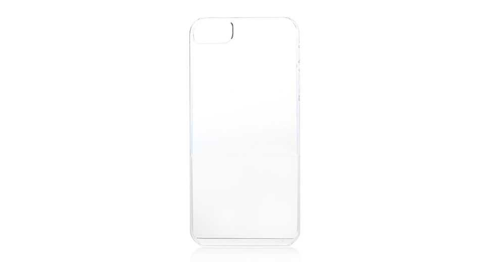 Smooth PVC Protective Case for iPhone 5 (Transparent) l