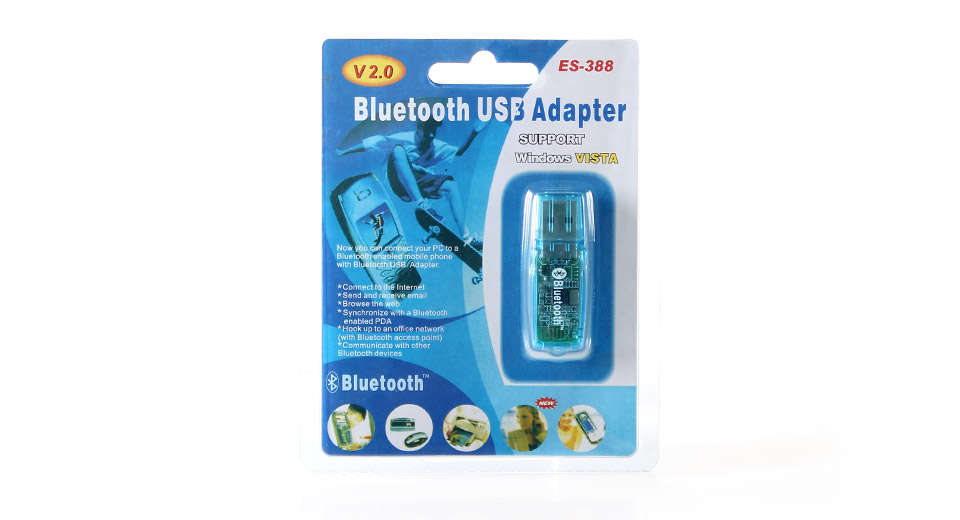 product  es bluetooth v usb dongle adapter blue