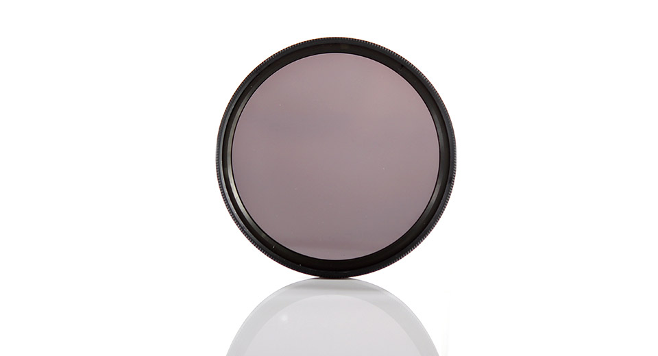 Neutral Density ND8 Camera Lens Filter (52mm)