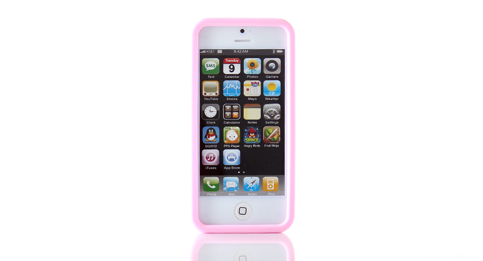 Calculator Style Protective Silicone Case for iPhone 5