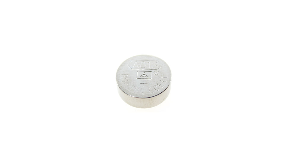 AG13 1.55V Cell Button Batteries (50-Piece Pack)