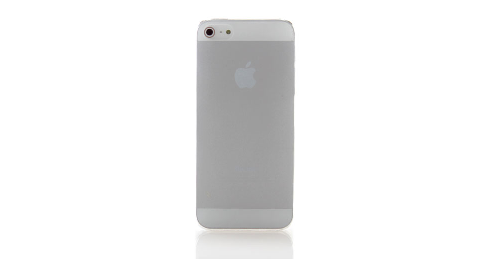 Ultra-thin Soft PVC Protective Case for iPhone 5 (Trans