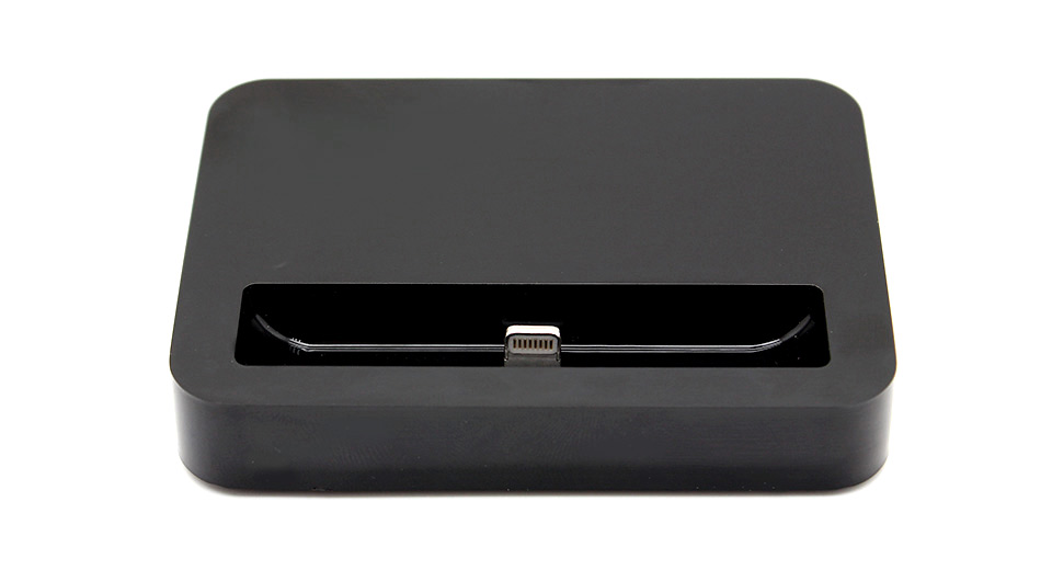 Product Image: 8-pin-data-charging-dock-for-iphone-5-black