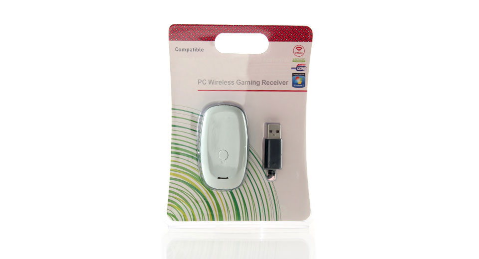 Wireless Gaming Receiver for Xbox 360 (White)