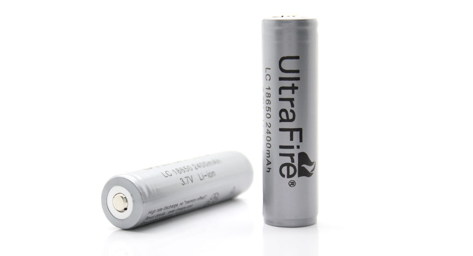 UltraFire LC 18650 2400mAh 3.7V Rechargeable Lithium Ba