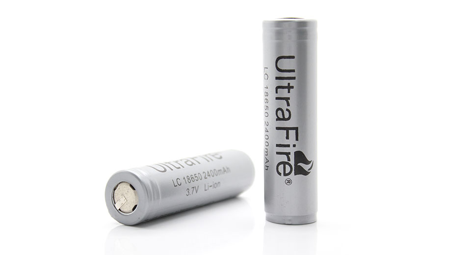 UltraFire LC18650 3.7V 2400mAh Protected Rechargeable L