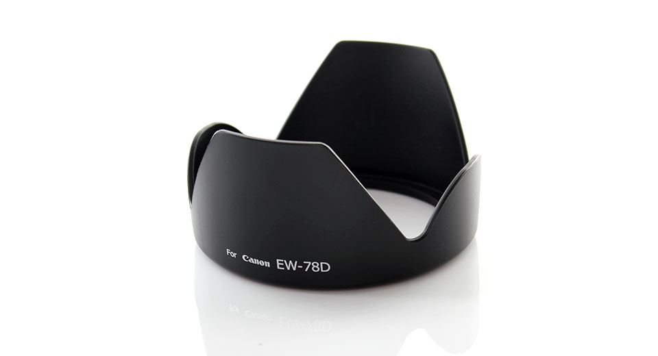Lens Hood for Canon EW-78D for EF 28-200mm / f3.5-5.6 L