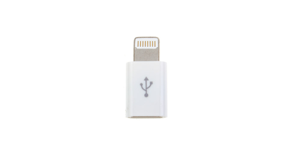 Product Image: 8-pin-to-micro-usb-adapter-for-apple-idevices