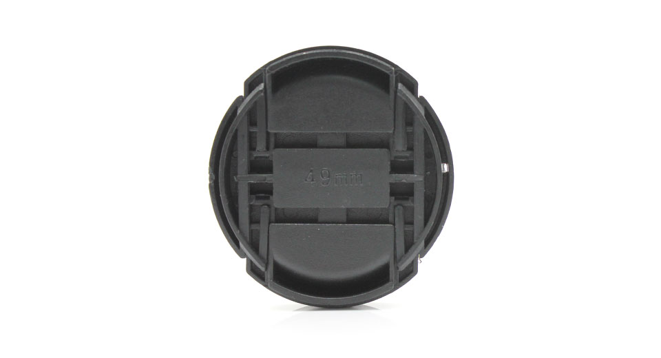 49mm Lens Cover for Sony Alpha DSLR Cameras
