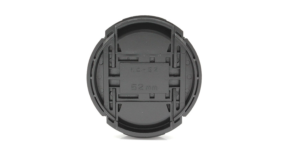 52mm Lens Cover for Nikon DSLR Cameras