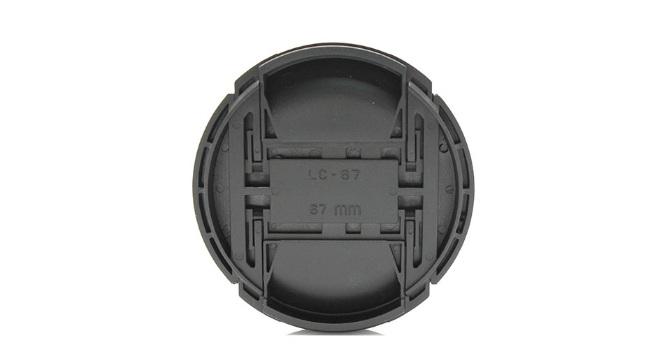67mm Lens Cover for Canon DSLR Cameras