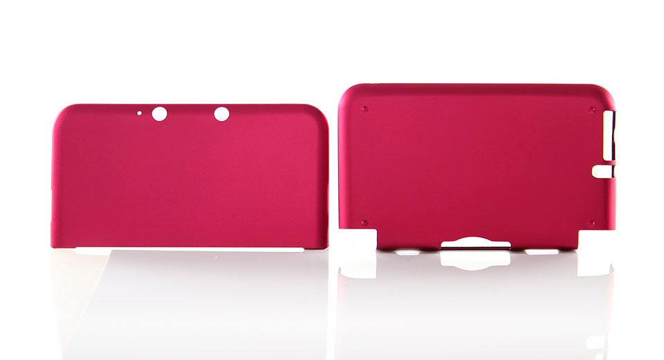 Protective Aluminium Case for Nintendo 3DS LL XL Red