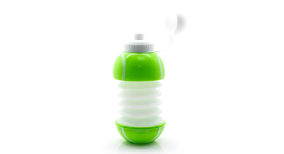 Unique Collapsible Tennis Ball Water Bottle