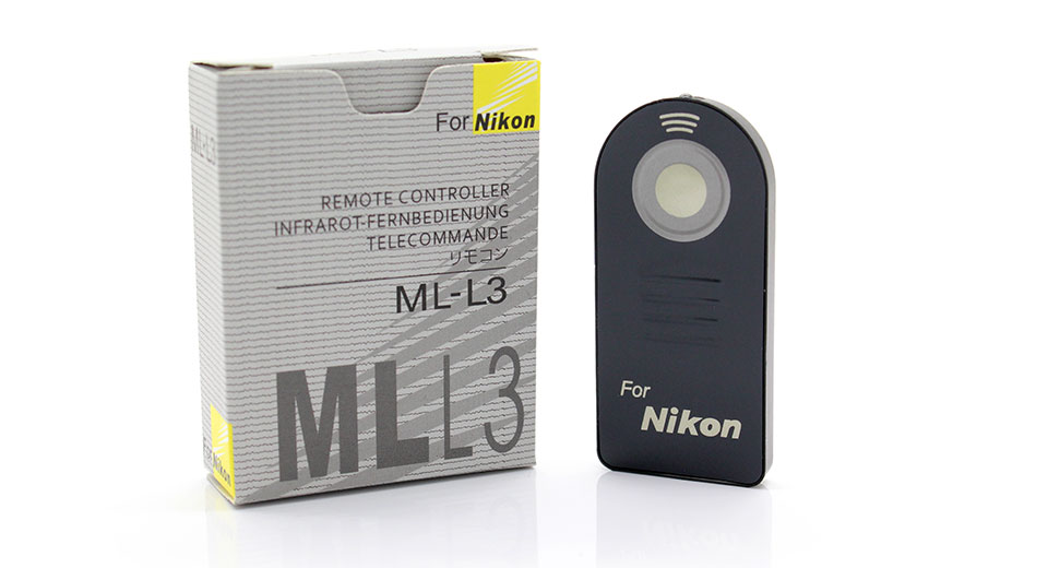 Nikon ML-L3 Compatible Wireless Remote Camera Shutter T