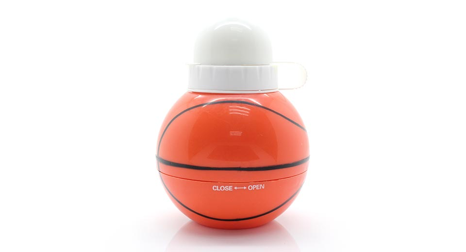 Unique Collapsible Basketball Water Bottle