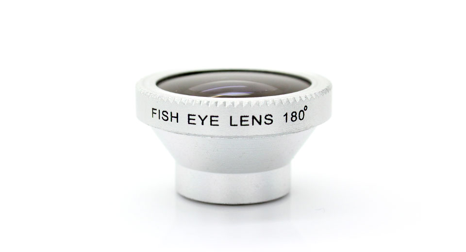 Detachable Fisheye Lens for iPhone / iPad also fits mos