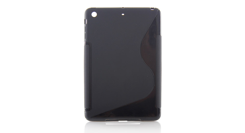 Protective Plastic Back Case for iPad Mini black