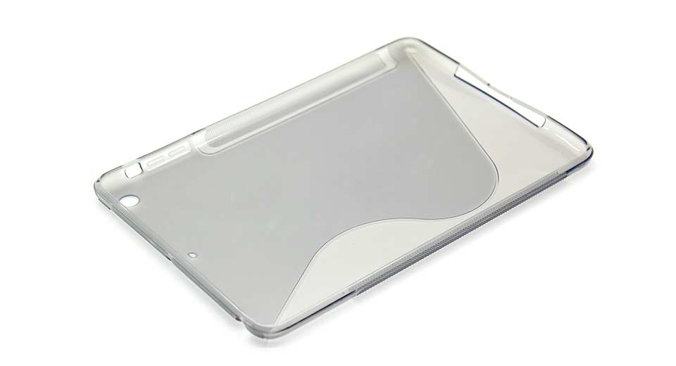 Protective Plastic Back Case for iPad Mini grey
