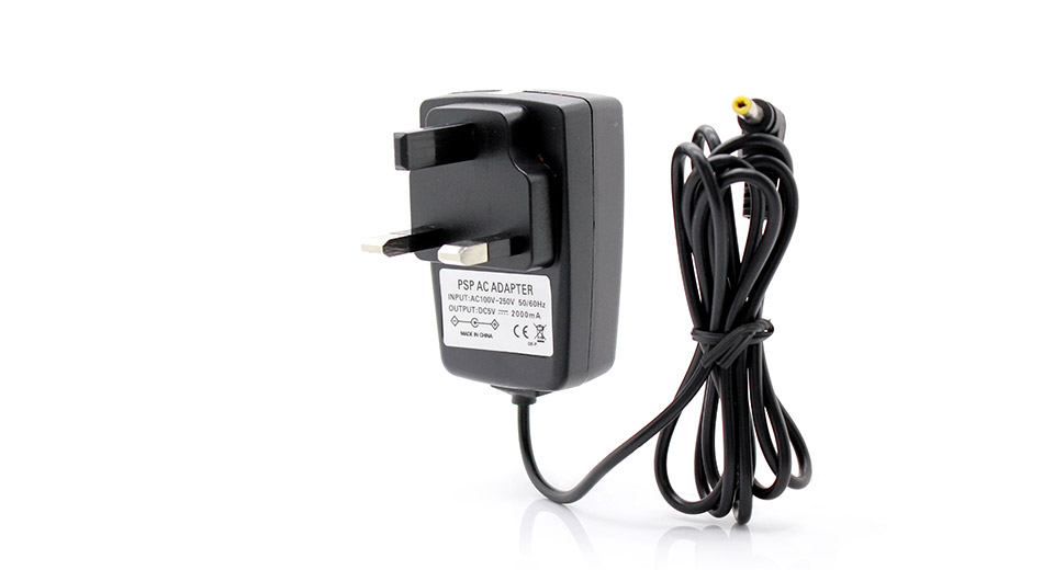 AC Charger / Power Adapter for PSP UK plug / 100~250V