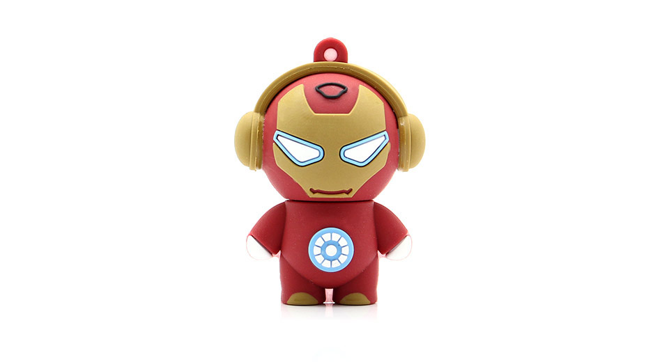 Iron Man USB Flash/Jump Drive (2GB)