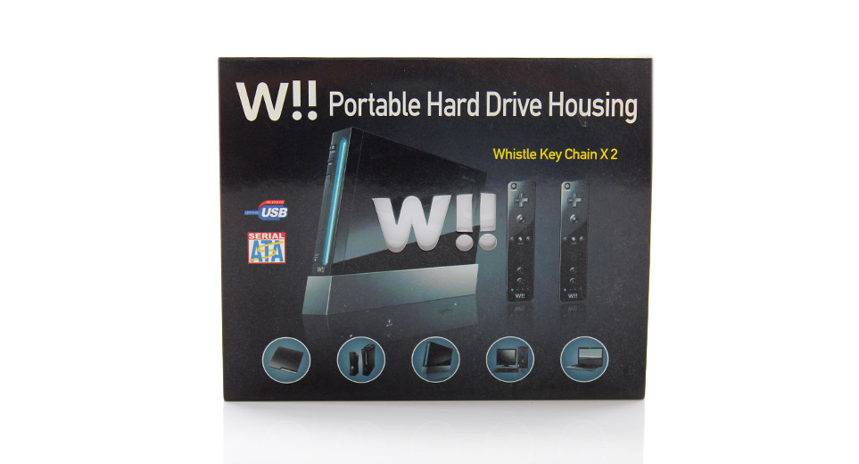 how to prepare a wii hard drive