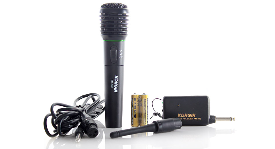 Karaoke pro Wireless Microphone Mic 306 Kit
