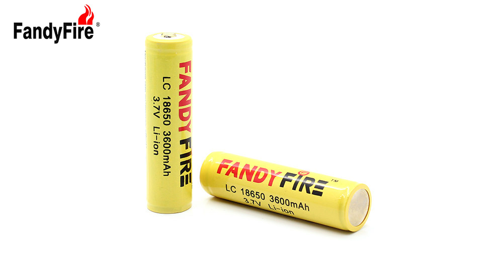 Product Image: fandyfire-18650-3-7v-3600-mah-ptrotected