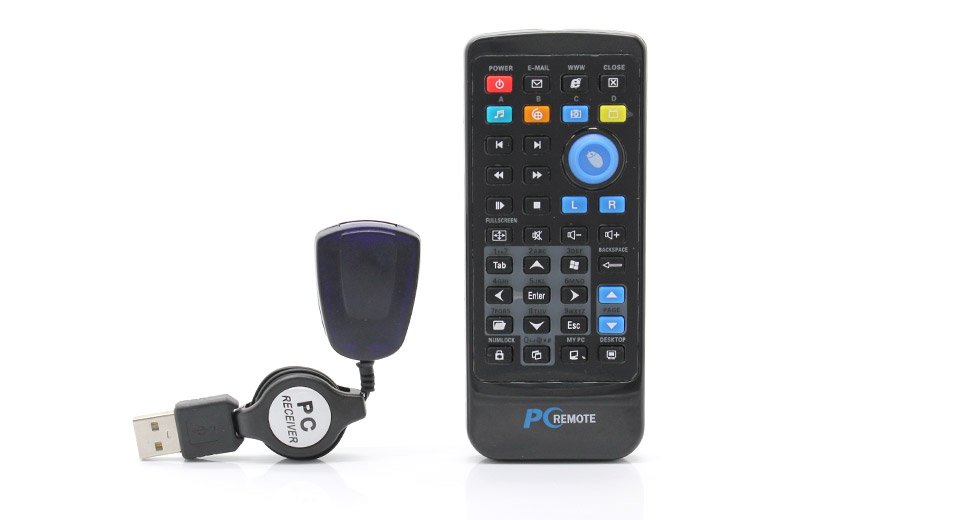 Product Image: multimedia-ir-remote-controller-with-usb-receiver-