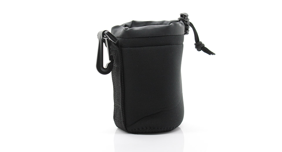 Universal Protective Drawstring Camera Lens Pouch small
