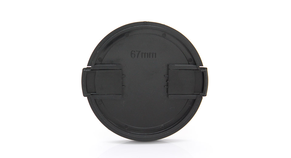 Snap-on Universal Camera Lens Cap Cover (67mm)