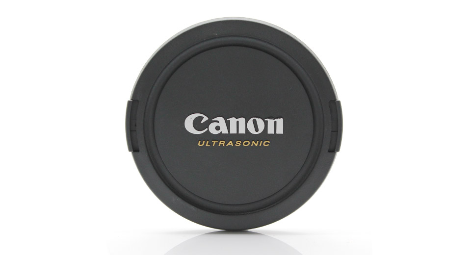 Snap-on Lens Cover for Canon DSLR Cameras (77mm)