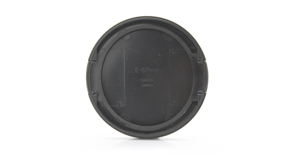 Snap-on Lens Cover for Canon DSLR Cameras (67mm)