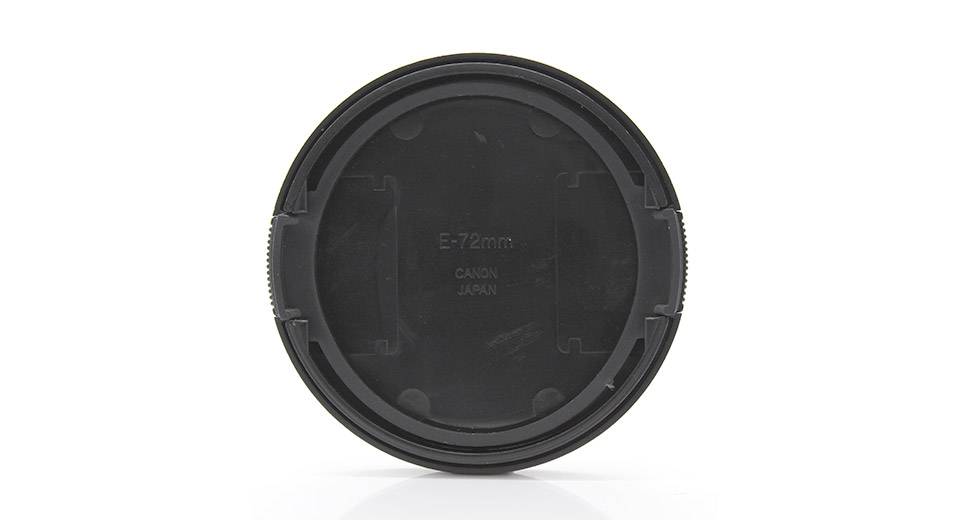 Snap-on Lens Cover for Canon DSLR Cameras (72mm)