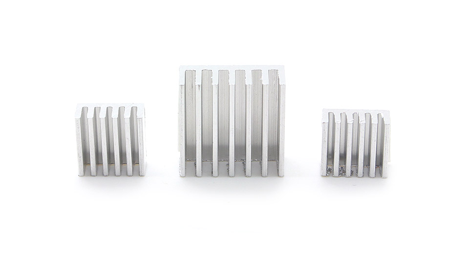 Product Image: aluminum-heatsinks-for-raspberry-pi-3-pack