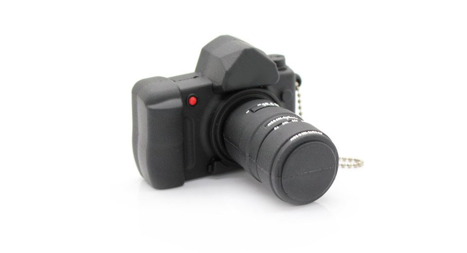Digital Camera Style USB Flash/Jump Drive (8GB)