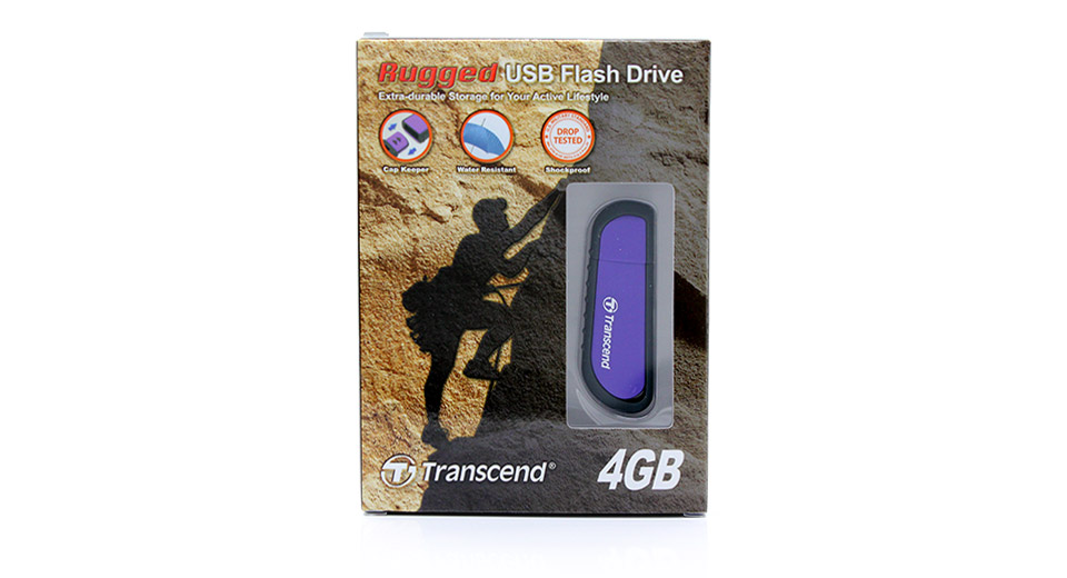 Transcend JetFlash V70 USB Flash /Jump Drive 4GB