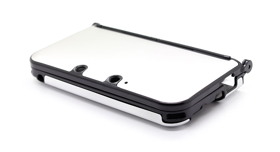 Protective Aluminium + Plastic Case for 3DS LL/XL silve