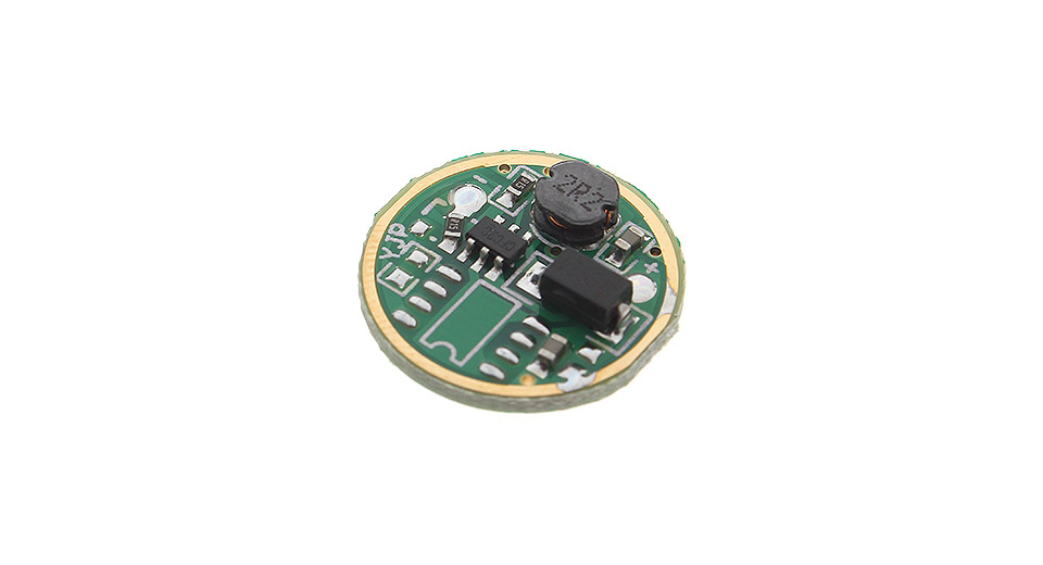 1 mode led driver circuit board for flashlight diy  350ma 1 mode led flashlight driver