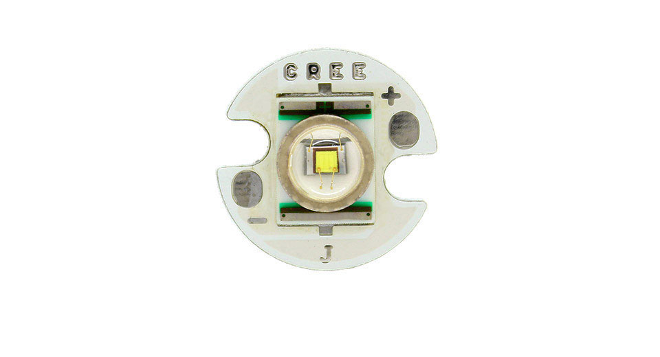 Cree Q5 3-Mode 250LM LED Emitter with 16mm Base 3.3V 35