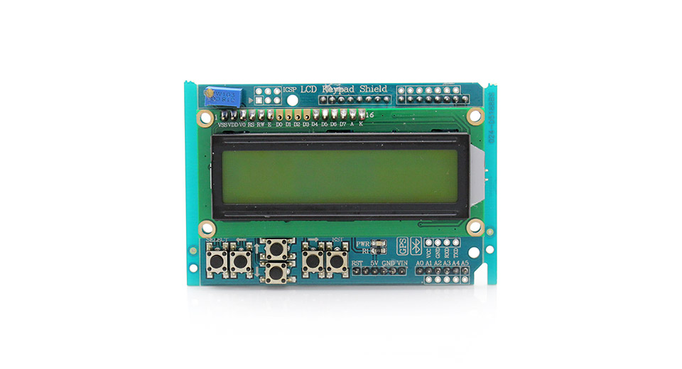 Product Image: 2-5-lcd-keypad-shield-for-arduino-compatible