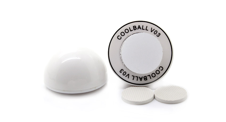 Heat Reduction Stand Balls for Laptop (2-Piece Pack) wh