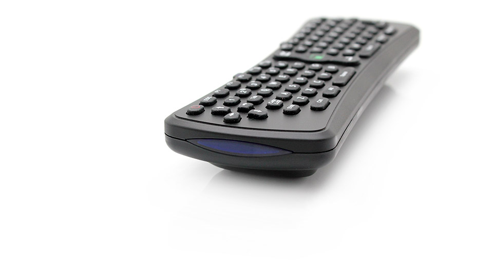 2 4ghz mini handheld wireless keyboard with integrated mouse 3 x aaa ukb 90 rf at. Black Bedroom Furniture Sets. Home Design Ideas