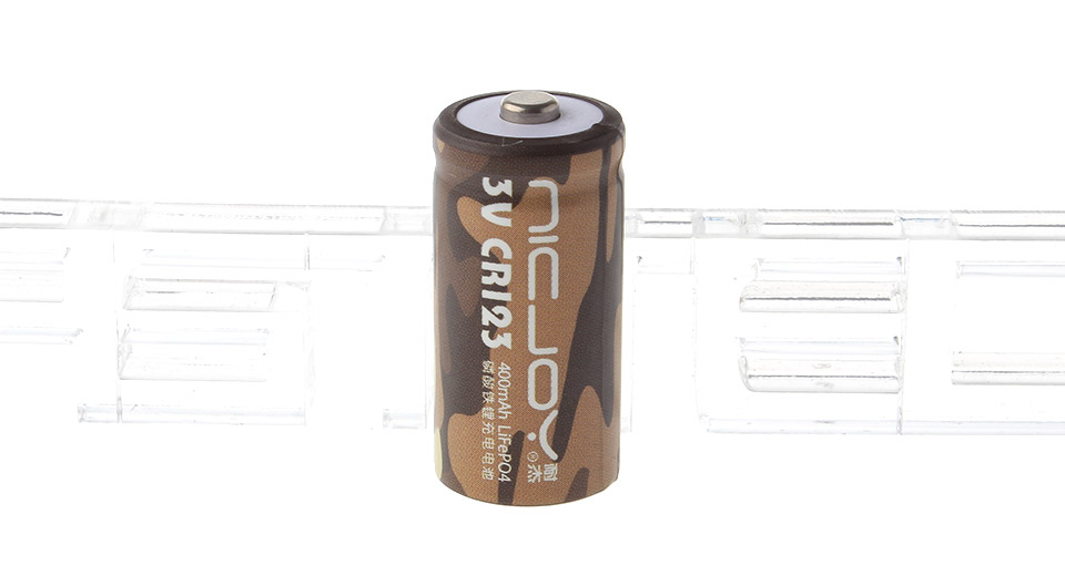 Product Image: 3-2v-400mah-cr123a-16340-rechargeable-lifepo4
