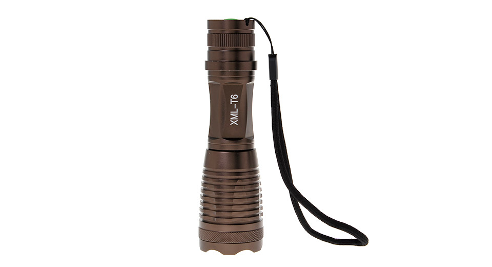 UltraFire Cree XM-L T6 5-Mode Zooming LED Flashlight 1*